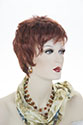 Beach Girl Short Pixie Straight Blonde Brunette Red Wigs