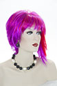 Dare Medium Straight Costume Fun Color Wigs