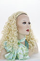 Braided 3/4 Wig With Headband Long Medium Wavy Curly Red Wigs 3/4 Cap