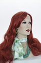 Lauren G Long Skin Top Straight Blonde Brunette Red Wigs