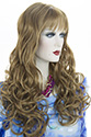 Andrea Long Skin Top Wavy Blonde Brunette Red Wigs