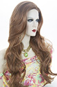 Arilyn Long Skin Top Straight Blonde Brunette Red Wigs