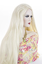 Mortisha Long Skin Top Straight Blonde Brunette Red Grey Costume Wigs