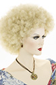 Jumbo Afro Medium Curly Blonde Brunette Red Costume Fun Color Wigs