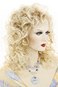Pretty Girl Long Medium Wavy Curly Blonde Brunette Red Grey Wigs