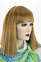 Nida Long Medium Straight Blonde Brunette Red Wigs