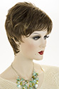 Marie Short Pixie Wavy Straight Blonde Brunette Red Grey Wigs