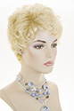 Ester Short Pixie Wavy Blonde Brunette Wigs