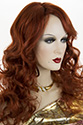 Miley Long Skin Top Wavy Blonde Brunette Red Wigs