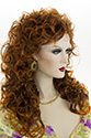 Cathy G Long Wavy Curly Blonde Brunette Red Wigs