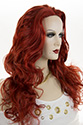 Bally NB Long Skin Top Wavy Curly Blonde Brunette Red Wigs