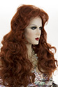 Laura Long Wavy Blonde Brunette Red Wigs