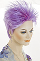 Rocker G Short Straight Costume Fun Color Wigs