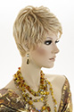 Jada Lace Front Short Lace Front Heat Friendly Pixie Straight Blonde Brunette Red Wigs