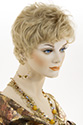 Petite Courtney Short Monofilament Hand Tied Petite Pixie Straight Blonde Brunette Red Wigs