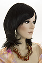 Monica G Medium Short Wavy Straight Blonde Brunette Red Wigs