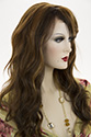 Tease LF Long Lace Front Heat Friendly Wavy Straight Blonde Brunette Red Wigs