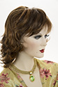 Leslie L Medium Short Wavy Straight Blonde Brunette Red Wigs