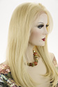 Iris HL Long Premium Remy Human Hair Lace Front Straight Blonde Brunette Red Wigs