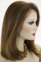 Inez HL Medium Premium Remy Human Hair Lace Front Straight Blonde Brunette Red Wigs