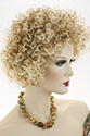 Jamaica WB Medium Short Curly Blonde Brunette Red Wigs