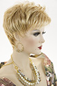 Whitney wb Short Pixie Wavy Straight Blonde Brunette Red Wigs