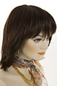 Zelma G Medium Straight Brunette Wigs