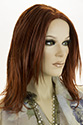 Heather Medium Skin Top Straight Blonde Brunette Red Wigs