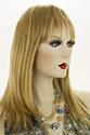 Desire WB Long Premium Remy Human Hair Skin Top Straight Blonde Brunette Red Wigs