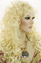 Stella G Long Wavy Curly Blonde Brunette Red Wigs