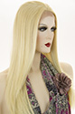 Dahlia LF Long Lace Front Heat Friendly Straight Blonde Brunette Red Wigs