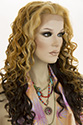 Isabella LF WB Long Lace Front Heat Friendly Wavy Curly Blonde Brunette Red Wigs
