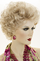 Lynn by Jon Renau Medium Short Jon Renau Wavy Blonde Brunette Red Wigs