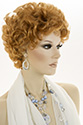 Kelly Short Wavy Curly Blonde Brunette Red Wigs
