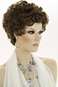 Kelly Short Wavy Curly Blonde Brunette Wigs