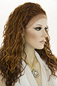 Sierra LF wb Long Medium Lace Front Heat Friendly Wavy Curly Blonde Brunette Red Wigs Braids