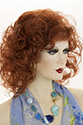 Sabrina Long Medium Wavy Curly Blonde Brunette Red Wigs