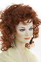 Lisa Medium Curly Blonde Brunette Red Grey Wigs
