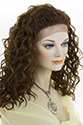Solange LF Long Lace Front Wavy Curly Brunette Red Wigs Braids
