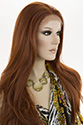 Diamond LF Long Lace Front Heat Friendly Straight Blonde Brunette Red Wigs