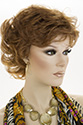 Clair E Medium Short Wavy Blonde Brunette Red Wigs