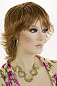 DANIELLE Medium Wavy Blonde Brunette Red Wigs