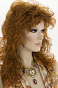 CECILIA Long Medium Wavy Curly Straight Blonde Brunette Red Wigs