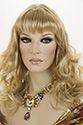Rotha Long Skin Top Wavy Curly Blonde Red Wigs