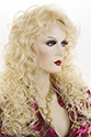 Anemone 3/4 By Wig Pro Long Medium Wig Pro Wavy Curly Blonde Brunette Red Wigs 3/4 Cap