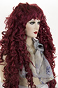 F453 Long Wavy Curly Blonde Brunette Red Costume Wigs
