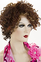 Monique LF Medium Lace Front Heat Friendly Curly Brunette Red Wigs