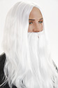 Gandalf Long Straight Costume Fun Color Wigs