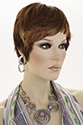 Maui LF Short Lace Front Heat Friendly Pixie Straight Brunette Red Wigs