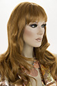 Monique E Long Skin Top Wavy Straight Blonde Brunette Red Wigs